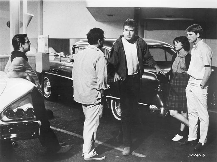 American Graffiti (1973). Directed by George Lucas with Richard Dreyfus, Ron Howard, Cindy Williams, Paul le Mat and Charles Martin Smith.