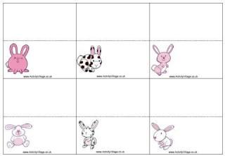 Πασχαλινές κάρτες χώρα: Easter Places, Place Cards, Easter Printables, Easter Games, Places Cards
