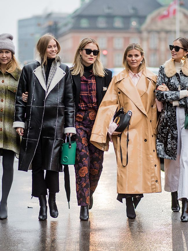 Kicking off 2018 in style, it's the Scandi crew at Copenhagen Fashion Week. Here are the best street style looks from the Danish city.