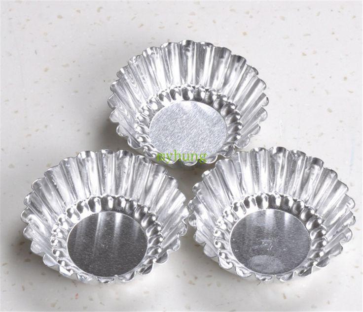 Дешевое Круглый пироги печенье торт торт плесень выстроились с алюминиевой формы для выпечки яичный пирог плесень 20 шт./лот бесплатная доставка HG403, Купить Качество Противни для кексов непосредственно из китайских фирмах-поставщиках:                 Круглый пироги бисквитный торт торт плесень выстроились с алюминиевый формы для выпечки яйцо терпкий Пле