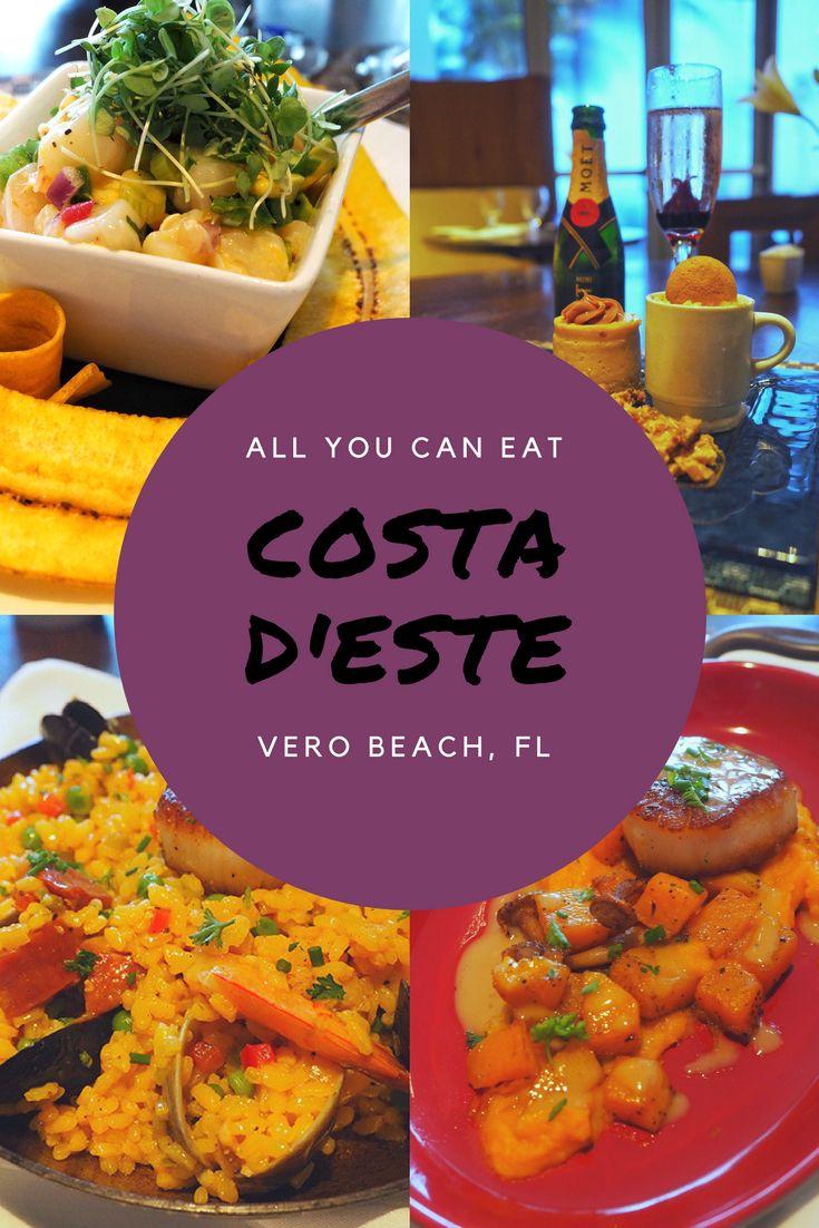Dine At Costa D'Este in Vero Beach, Florida!