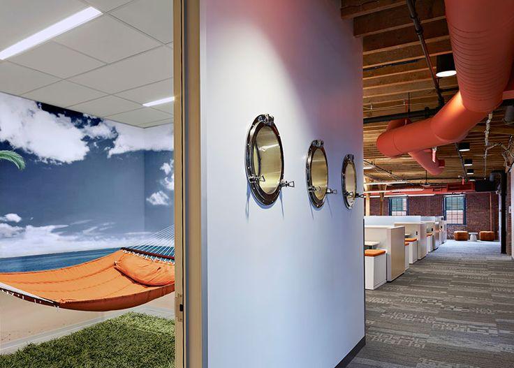 The Hammock Room At HubSpots Cambridge Headquarters Photo By Robert Benson