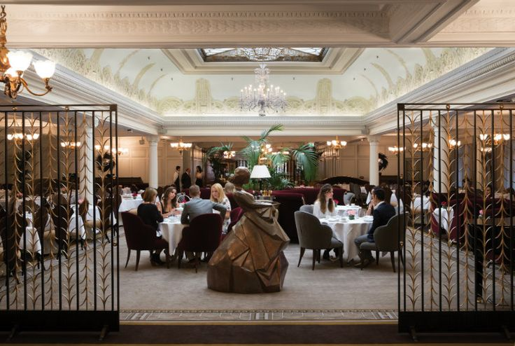 The Restoration of the Georgian Restaurant by Christopher Guy