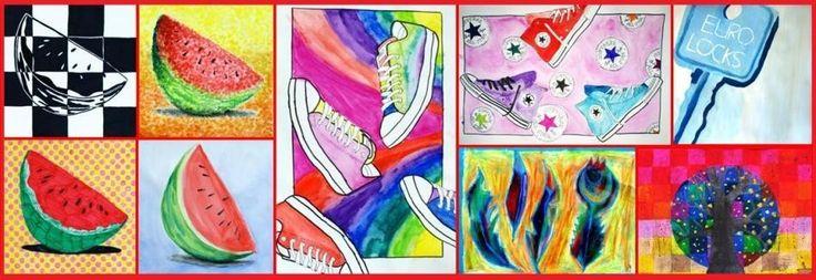Popart snoep 2014-2015 - De website van kunstopdemagnolia!