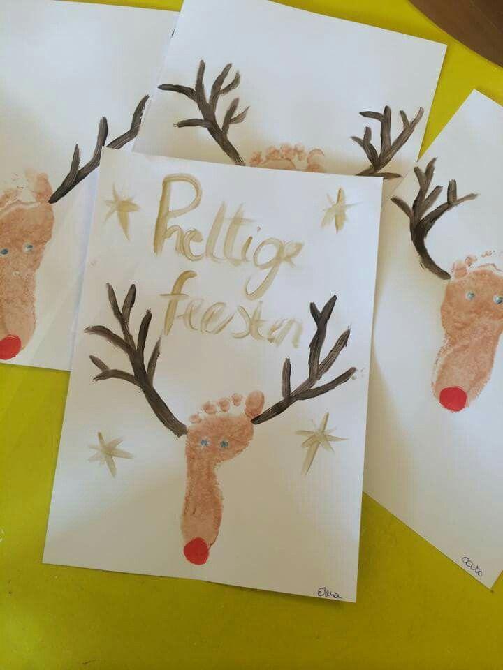 Rendier - feestdagen - peuters - knutselen