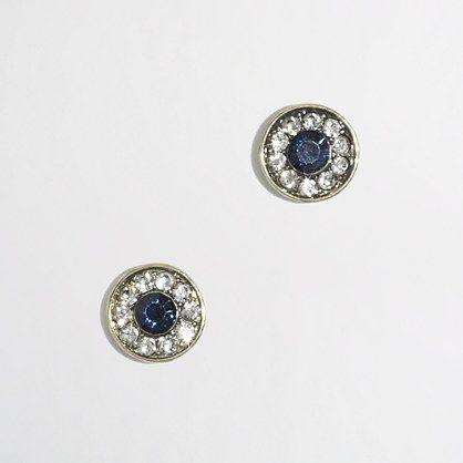 crystal stud earring / j.crew factory