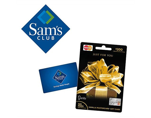 Sam's Club | Buy $100 or $200 MasterCard Gift Card & Get a $5 Sam's Club Gift Card Free $5 (samsclub.com)