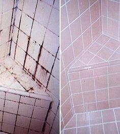 fürdőszoba csempéinek megtiszítása házilag