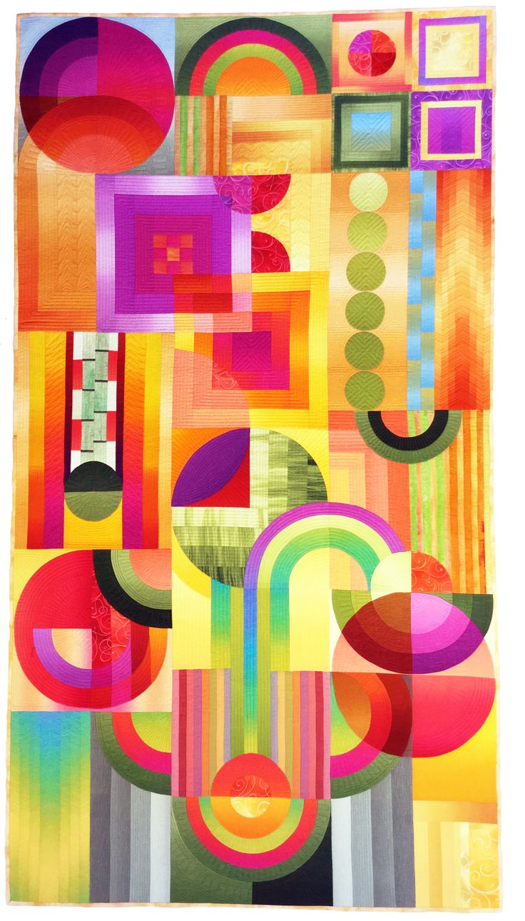 Best Use of Color Award#708 TECHNICOLOR DECO,  Shirley Gisi, Colorado Springs, CO