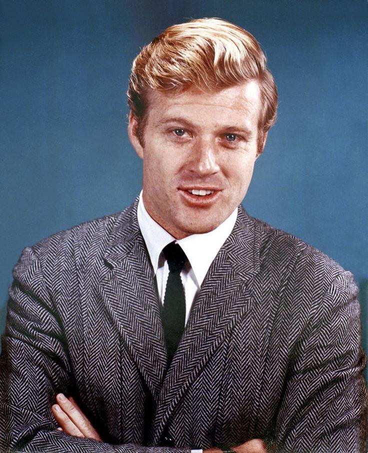 Robert Redford: Robert Redford In Norfolk Herringbone Tweed Jacket And