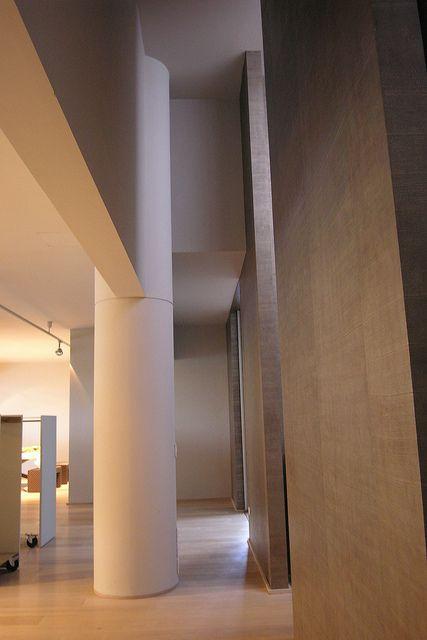 DRAPPO OFFICINA TESSILE  -03 / Progetto-Concept  della sede di  Calderara d. R. Bologna 2005 design by LAURO GHEDINI & PARTNERS architecture & design studio