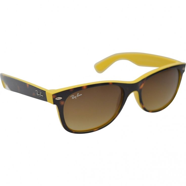 RAY-BAN Yellow Plastic Sunglasses