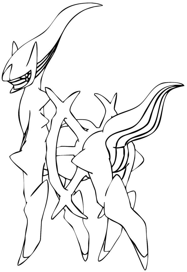 arceus lineart by Elsdrake on DeviantArt Pokemon