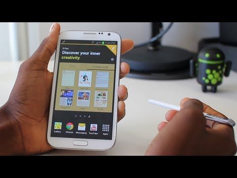 Samsung Galaxy Note II Review.