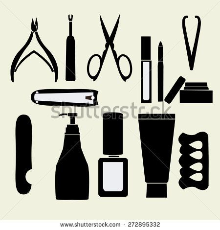 17 Best images about beauty clip art on Pinterest | Nail art ...