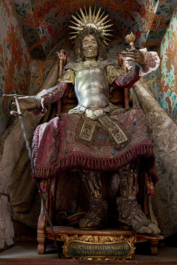 [Image]   The Beauty of Death: Catacomb Saints Photographed by Paul... - TIMEWHEEL
