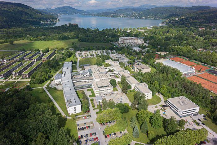 #دانشگاه_کلانگفورت_اتریش #klagenfurt-university_austria
