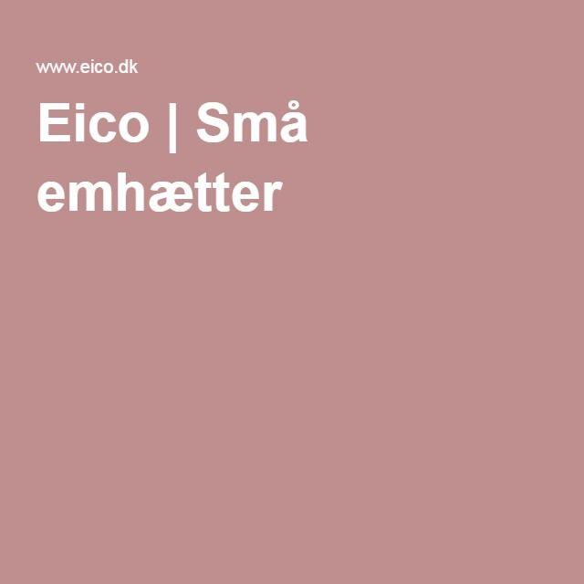 Eico | Små emhætter