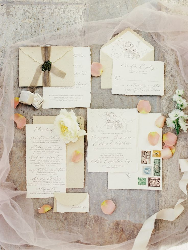 small wedding ceremony invitations%0A invitations from Cyprus wedding inspiration  http   www trendybride net paphos