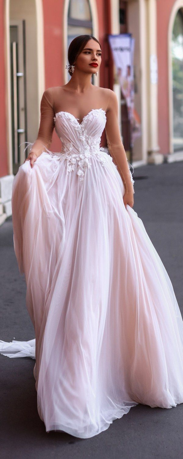 Katherine Joyce Ma Cherie Wedding Dress Catalina / http://www.deerpearlflowers.com/katherine-joyce-wedding-dresses-2018/