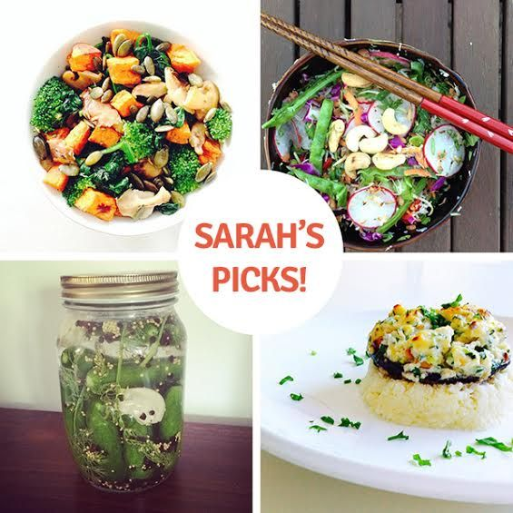 Sarah's Picks from Week-Two of the #IQS 8-Week Program: Top @_chiachild, @completelycoe Bottom: @Lissa Callahan, wbtdiary #sugarfree #lunch #dinner