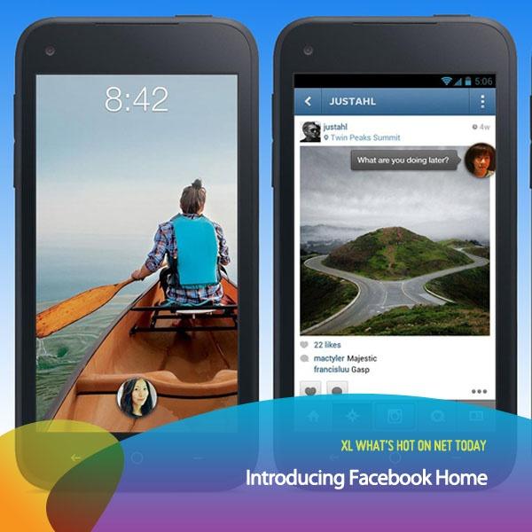 Siapa yang udah download Facebook Home di gadget Androidnya?