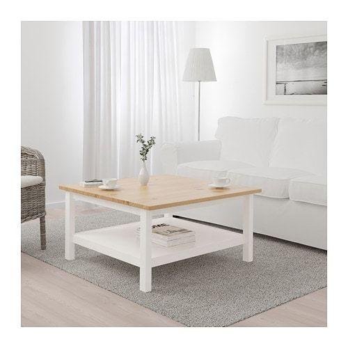 Hemnes Table Basse Teinté Blanc Brun Clair In 2018 Home