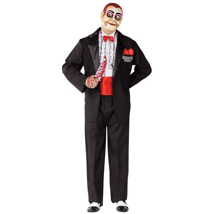 Adult Demented Dummy Ventriloquist Costume