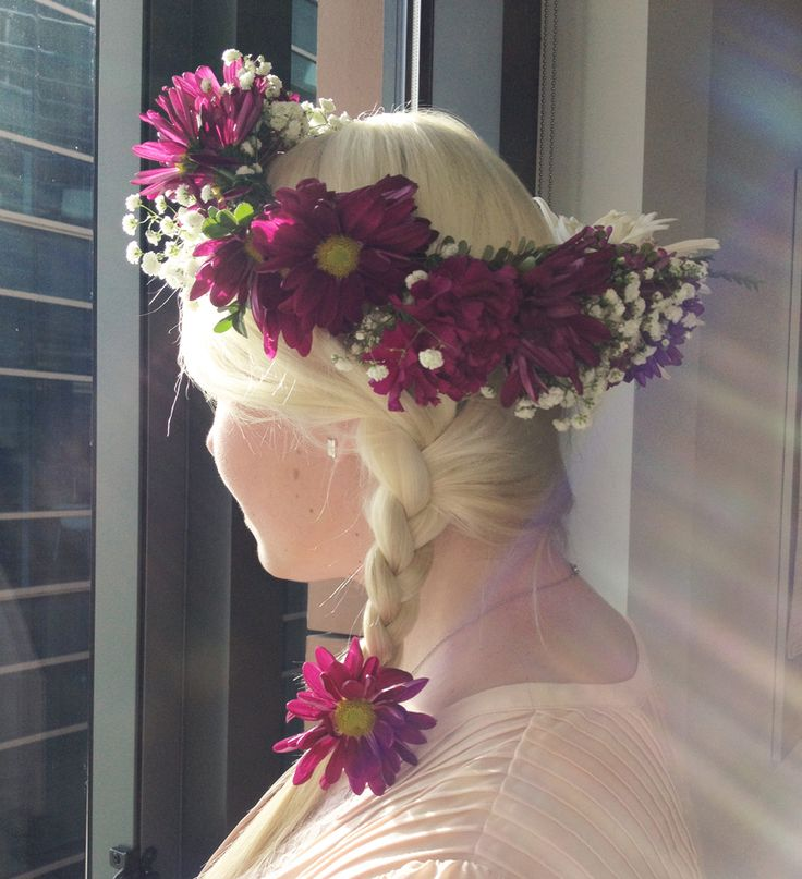 Flower Crown for your Tangled Movie Night