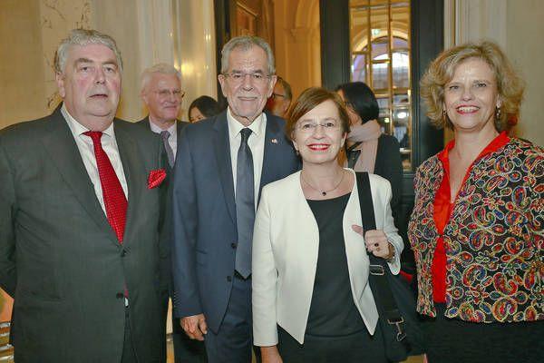 Bundespräsident Alexander van der Bellen eröffnet das neue Weltmuseum Wien