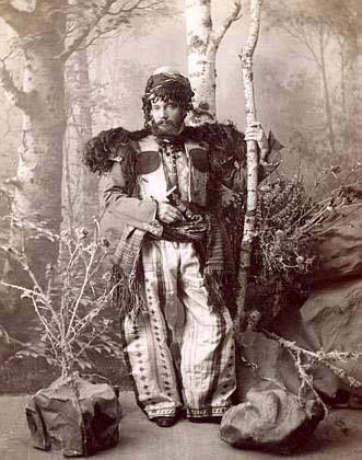 A wealthy Armenian man posing in the district of Sasun, modern-day eastern Turkey. c. 1900.