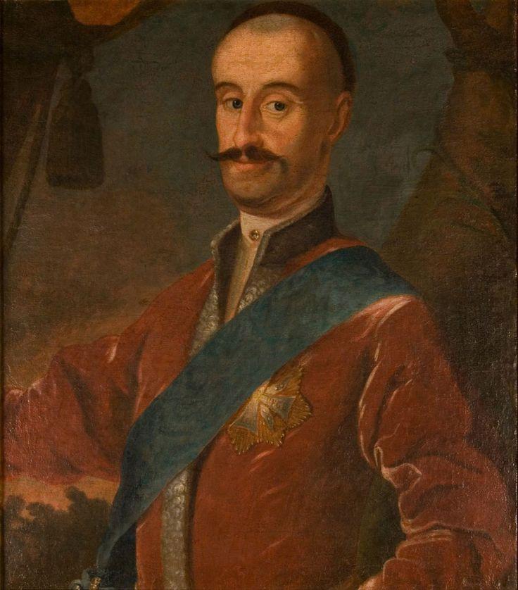 Portret Jana Wodzickiego, starosty ujskiego (ok.1670-1726)  Autor nieznany  olej na płótnie, II poł. XVIII wieku