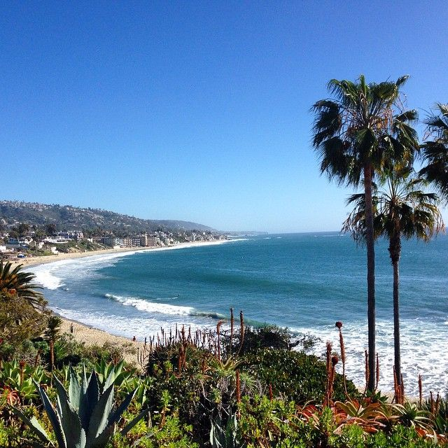 Miss this weather #travel #lagunabeach #California