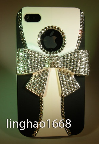 Crystal Bow iPhone case