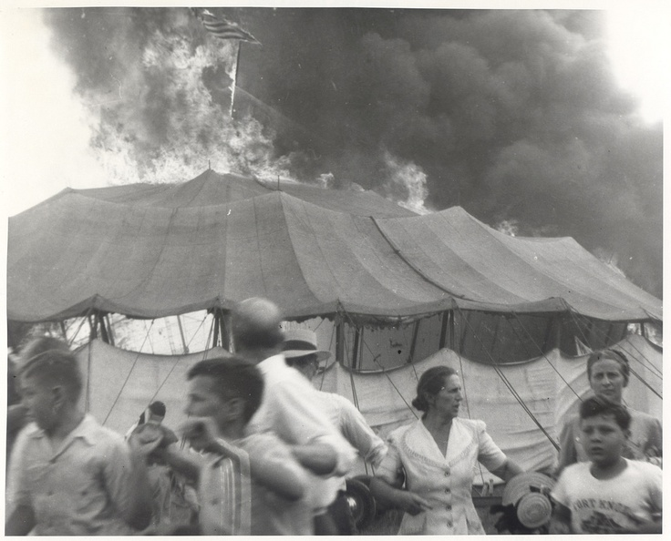 Hartford circus fire, 1944