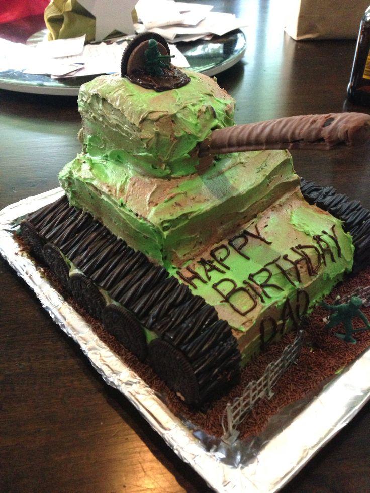 Birthday Tank Cake