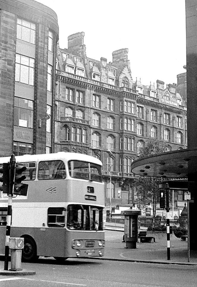 St Enoch Hotel from Argyle Street - 1976