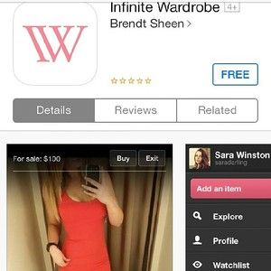 Download IW in the app store  today! Buy sell and trade fashion for free! #fashion #iphone #IW #app