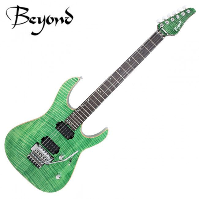 Beyond Modern FR Floyd Duncan Nazgul 24Fret Burned Maple Ebony Electric Guitar  #Beyond