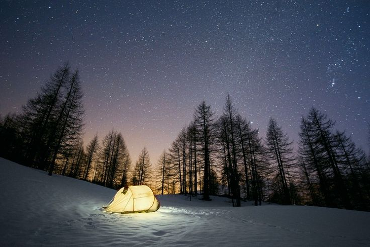 Pointing the stars (Alps, Devero Park, Italy), by Marco Bottigelli via 1X