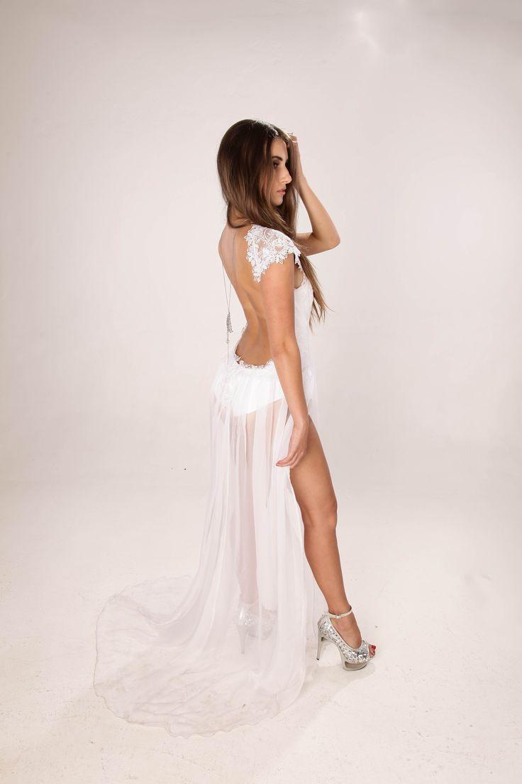 Wedding Dress Body Suit ESTELLE Bridal Collection  Visit the Facebook page: https://www.facebook.com/EstelleVisserDesigns
