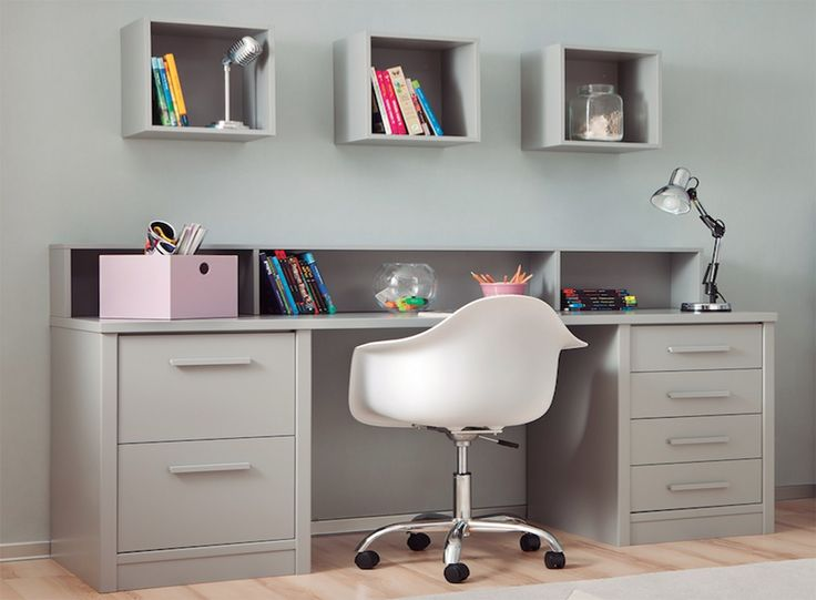 bureau enfants longueur 202 cm 2 caissons 1 etagere bricolage pinterest bureau. Black Bedroom Furniture Sets. Home Design Ideas