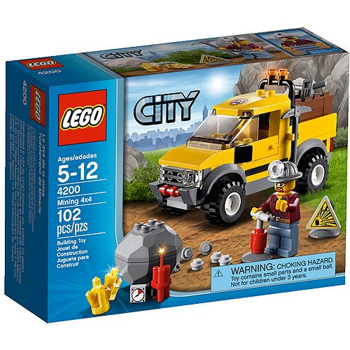 Walmart Toys For Boys Legos : Lego city mining play set sets