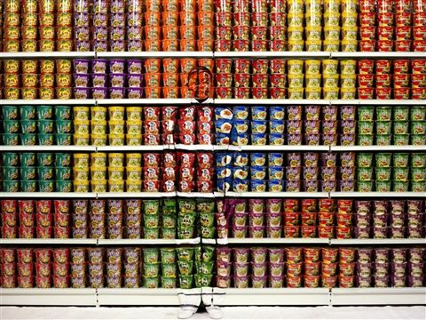 Image result for Liu Bolin, Hiding in the City
