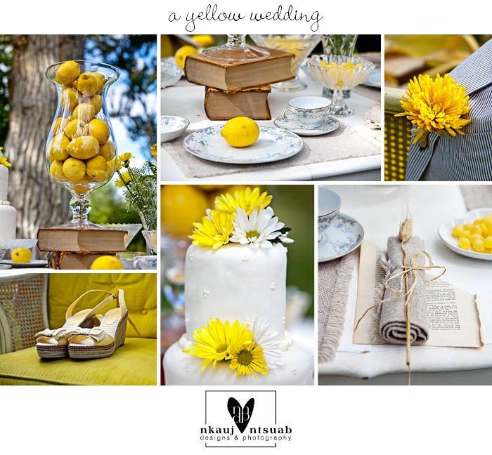 A Yellow Themed Wedding – Montana Wedding Photography