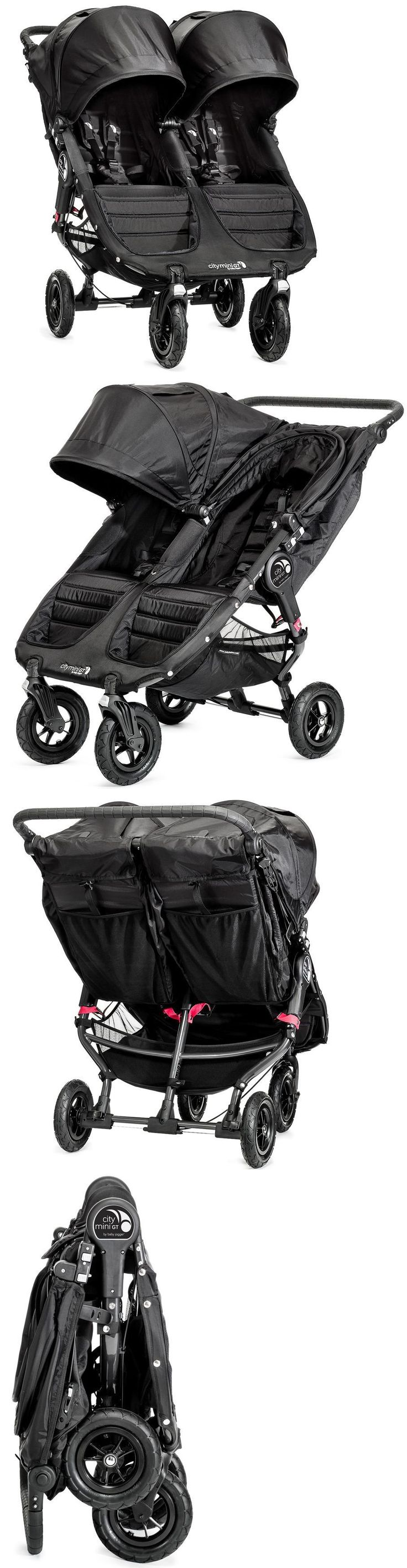 Other Baby Gear 100224: Baby Jogger City Mini Gt Double Twin All Terrain Stroller Black New -> BUY IT NOW ONLY: $492.99 on eBay!