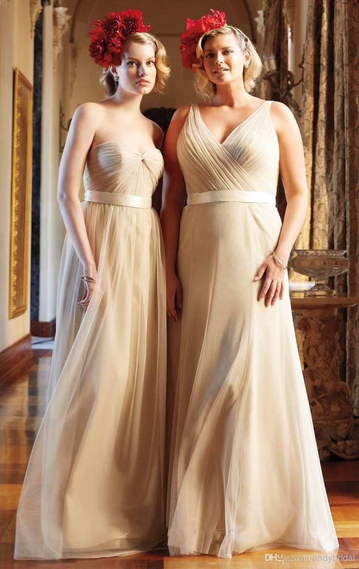176 best bridesmaid dresses plus images on pinterest plus size two styles champagne plus size bridesmaid dresses 2015 maid of honor dress sweetheart v neck ruched tulle cheap bridesmaid dresses with belt ombrellifo Images