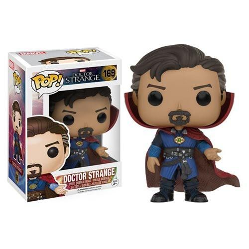 In-Stock Open your mind and change your reality! From Marvel's 2016 Doctor Strange film, enjoy Stephen Strange as a Pop! Vinyl Figure. The Doctor Strange Movie
