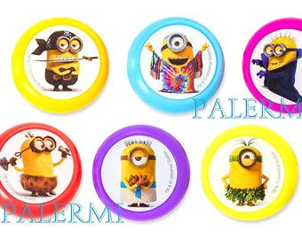 Image result for despicable me cupcake toppers