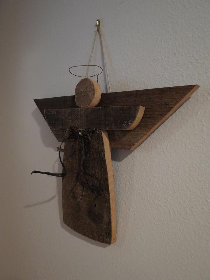 Country Angel Christmas Angel Yard Ornament Wooden Angel Christmas Craft Ideas Pinterest
